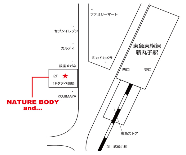 NATURE BODY and...新丸子店